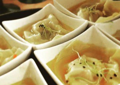 Raviole d'ossobucco